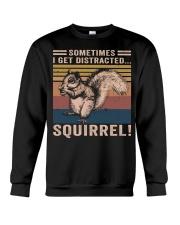 Sometimes I Get Distracted Crewneck Sweatshirt thumbnail