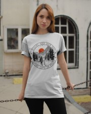 A Girl And Her Dog Classic T-Shirt apparel-classic-tshirt-lifestyle-19