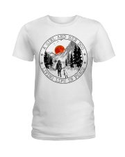 A Girl And Her Dog Ladies T-Shirt thumbnail
