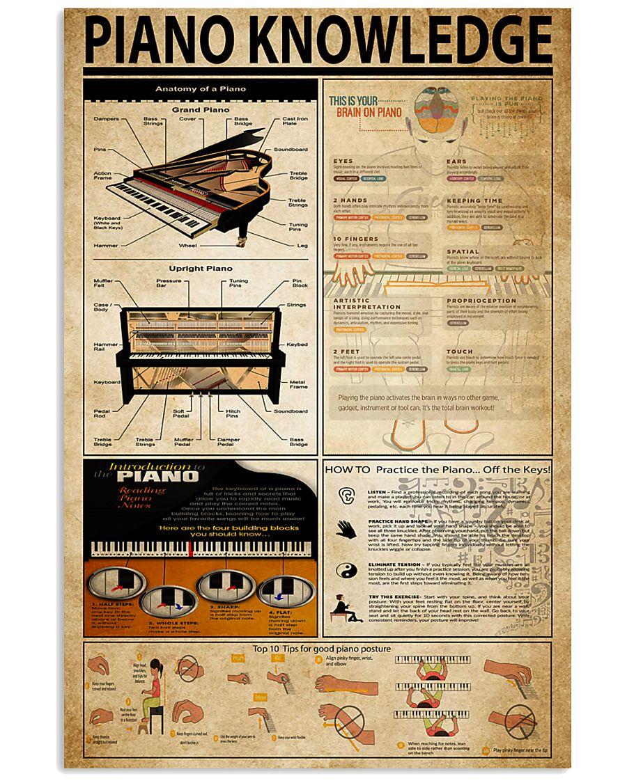 Piano Knowledge 11x17 Poster