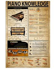 Piano Knowledge 11x17 Poster front