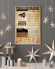 Piano Knowledge 11x17 Poster lifestyle-holiday-poster-1
