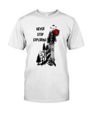 Never Stop Explore Classic T-Shirt thumbnail