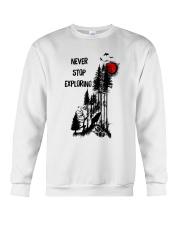 Never Stop Explore Crewneck Sweatshirt thumbnail