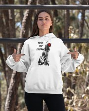 Never Stop Explore Hooded Sweatshirt apparel-hooded-sweatshirt-lifestyle-05