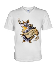 Wish You Were Beer V-Neck T-Shirt thumbnail