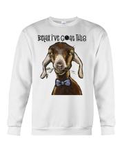 Relax I've Coat This Crewneck Sweatshirt thumbnail