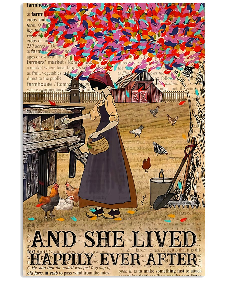 She Lived Happily Ever After 11x17 Poster