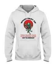 What Part Of Cthulhu Hooded Sweatshirt thumbnail