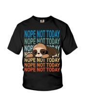 Nope Not Today Youth T-Shirt thumbnail