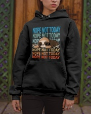 Nope Not Today Hooded Sweatshirt apparel-hooded-sweatshirt-lifestyle-front-03