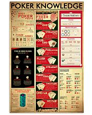 Poker Knowledge 11x17 Poster front