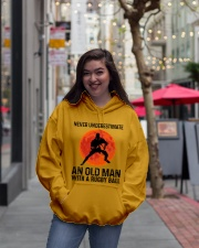 An Old Man With A Rugby Ball Hooded Sweatshirt lifestyle-unisex-hoodie-front-2