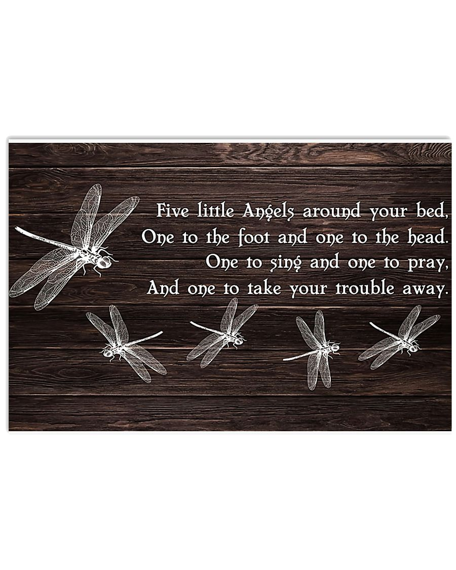 Five Little Angels 17x11 Poster