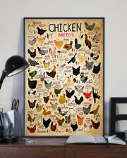 Chicken Breeds 11x17 Poster lifestyle-poster-2