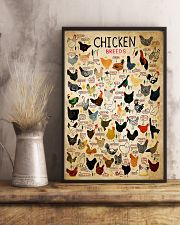 Chicken Breeds 11x17 Poster lifestyle-poster-3