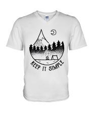 Keep It Simple 2 V-Neck T-Shirt thumbnail