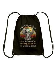 Always Be The Elephant Drawstring Bag thumbnail