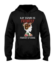 By Brain Is Proudly Hooded Sweatshirt thumbnail