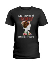 By Brain Is Proudly Ladies T-Shirt thumbnail