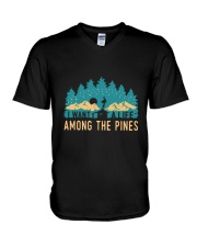 I Want To A Life Among The Pines V-Neck T-Shirt thumbnail