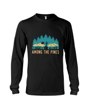 I Want To A Life Among The Pines Long Sleeve Tee thumbnail