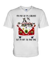 French Bulldog V-Neck T-Shirt thumbnail