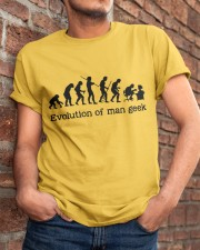 Evolution Of Man Geek Classic T-Shirt apparel-classic-tshirt-lifestyle-26