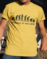 Evolution Of Man Geek Classic T-Shirt apparel-classic-tshirt-lifestyle-28