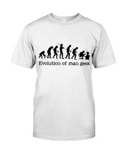Evolution Of Man Geek Premium Fit Mens Tee thumbnail