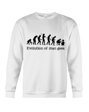 Evolution Of Man Geek Crewneck Sweatshirt thumbnail