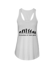 Evolution Of Man Geek Ladies Flowy Tank thumbnail