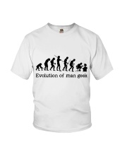 Evolution Of Man Geek Youth T-Shirt thumbnail