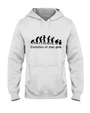 Evolution Of Man Geek Hooded Sweatshirt thumbnail
