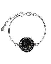 My mind still talks to you Metallic Circle Bracelet thumbnail