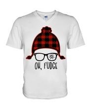 Oh Fudge V-Neck T-Shirt thumbnail
