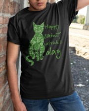 Happy Saint Catrick's Day Classic T-Shirt apparel-classic-tshirt-lifestyle-27