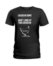 Chicken Game Ladies T-Shirt thumbnail