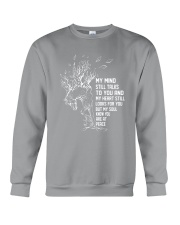 My Mind Still Talks To You Crewneck Sweatshirt thumbnail
