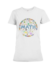 You Are Gonna Love Math Premium Fit Ladies Tee thumbnail