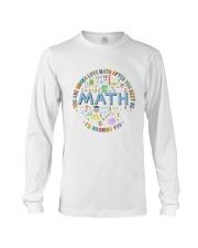 You Are Gonna Love Math Long Sleeve Tee thumbnail