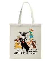 I Have Two Tittles Aunt Tote Bag thumbnail