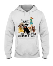I Have Two Tittles Aunt Hooded Sweatshirt thumbnail