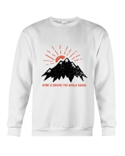 Home Is Behind The World Crewneck Sweatshirt thumbnail