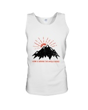 Home Is Behind The World Unisex Tank thumbnail
