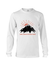 Home Is Behind The World Long Sleeve Tee thumbnail