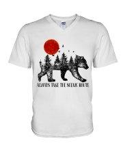 Always Take The Scenic Route V-Neck T-Shirt thumbnail