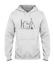 The Mountains Are Calling Hooded Sweatshirt front