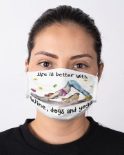Life Is Better With Yoga Cloth face mask aos-face-mask-lifestyle-01