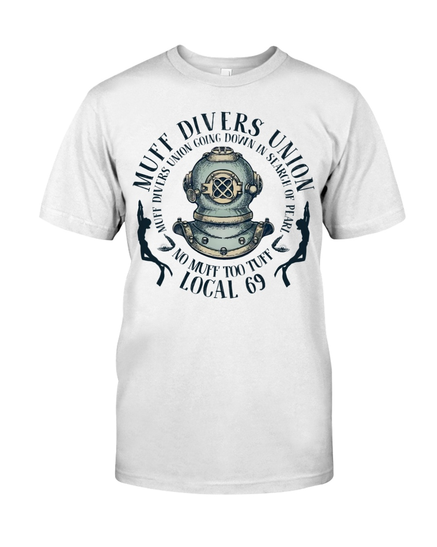 Muff Divers Union Classic T-Shirt